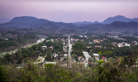 Luang Prabang skyline, Laos. UNESCO World Heritage Site. Royalty Free Stock Photos