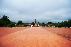 Luang Prabang stad på Loas Royaltyfri Fotografi