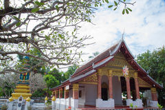 Luang prabang temples Stock Photos