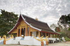 Luang prabang temples Royalty Free Stock Images