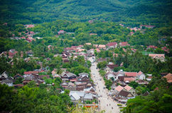 Luang Prabang town Royalty Free Stock Photos