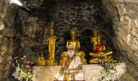 Luang Prabang und der Mekong von Mt Phousi Lizenzfreie Stockfotografie