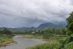 Luang Prabang w dżungli przy Mekong, Laos Obraz Stock