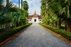 Luang prabangmuseum Arkivbilder