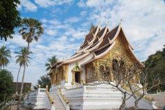 Luang prabangtempel Fotografering för Bildbyråer