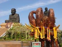 Luang pu thaut, syn Buddha obraz stock