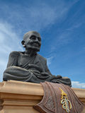 Luang Pu Thuat. The Statue of Luang Pu Thuat in Prachuap Khiri Khan, Thailand Stock Photography
