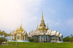 Luang PU zur Kapelle Nakhon Ratchasima , Thailand Stockfotografie