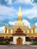 THAT LUANG STUPA Royalty Free Stock Images