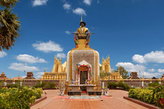 That Luang in Vientiane Stock Image