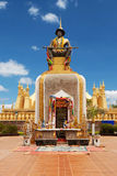 That Luang in Vientiane Stock Images
