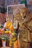 Luangphor皮带, Wat Phetrasukharom, 免版税库存照片