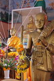 Luangphor Thong, Wat Phetrasukharom,. Baanphe, Muang Rayong, Rayong Province, Thailand, Asia Royalty Free Stock Photo