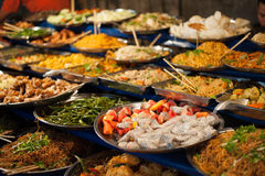 Luangprabang buffet. Royalty Free Stock Photo