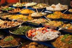 Luangprabang buffet. Royalty Free Stock Photo