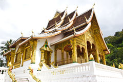 Luangprabang museum of Lao Stock Photography
