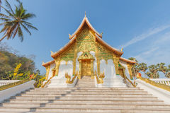 Luangprabang national museum Stock Photography
