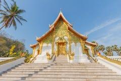 Luangprabang nationellt museum Arkivbild