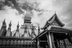 LuangVientien temple. In vientein Laos royalty free stock images