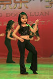 Children dance performance in the stage China. Stock Images