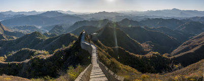 Luanping County, Hebei Jinshanling Great Wall Stock Photos