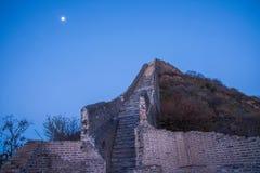 Luanping-Grafschaft, Chinesische Mauer Hebeis Jinshanling Lizenzfreie Stockbilder