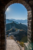 Luanping-Grafschaft, Chinesische Mauer Hebeis Jinshanling Lizenzfreie Stockfotos