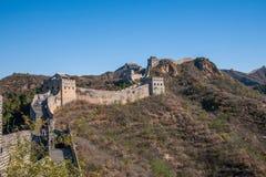 Luanping-Grafschaft, Chinesische Mauer Hebeis Jinshanling Stockbild