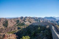 Luanping-Grafschaft, Chinesische Mauer Hebeis Jinshanling Stockfotos