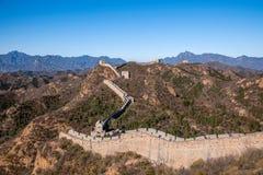 Luanping-Grafschaft, Chinesische Mauer Hebeis Jinshanling Lizenzfreies Stockfoto