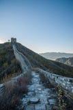 Luanping okręgu administracyjnego, Hebei Jinshanling wielki mur Zdjęcie Royalty Free