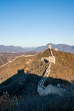 Luanping okręgu administracyjnego, Hebei Jinshanling wielki mur Fotografia Stock