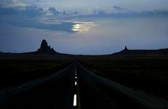Luar da estrada do vale do monumento foto de stock royalty free