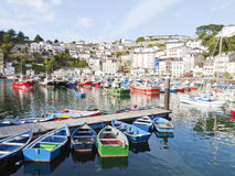 Luarca. Fishing village in the province of Asturias in Spain Stock Photography