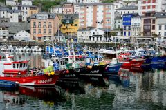 Luarca, Asturias, Spain Royalty Free Stock Photos