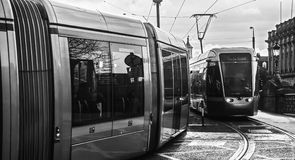 The Luas (Dublin) Royalty Free Stock Images