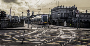 The Luas (Dublin) Royalty Free Stock Photo