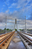 Luas Station in Dublin Irland Stockbild