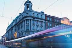 Luas tram light rail system in Dublin Royalty Free Stock Photos