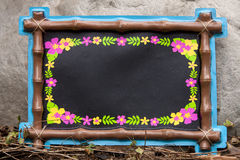 Luau Chalkboard Royalty Free Stock Image
