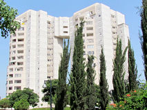 Lub Yehuda Neve Rabin budynek mieszkalny 2011 Obraz Royalty Free