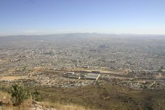 Lubango, Angola. Lubango  super-population city in  Angola Royalty Free Stock Images