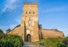 Lubart's Castle, 14th century, Ukraine Stock Photo