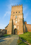 Lubart's Castle, 14th century, Ukraine Stock Photography