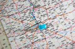 Lubbock, il Texas fotografia stock libera da diritti