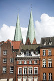 Lubeck. Beatiful view of the city of Lubeck, Germany Royalty Free Stock Photo