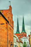 Lubeck Cathedral - Germany, Schleswig-Holstein Stock Photos