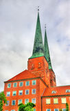 Lubeck Cathedral - Germany, Schleswig-Holstein Royalty Free Stock Photo