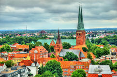 Lubeck Cathedral - Germany, Schleswig-Holstein Stock Photo