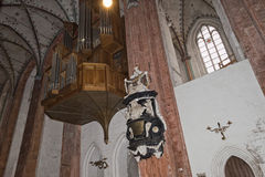 Lubeck church Stock Image